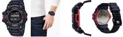 G-Shock Men's Connected Digital Power Trainer Black Resin Strap Watch 49.3mm