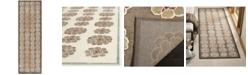 """Martha Stewart Collection MSR74306 Brown 2'5"""" x 7'6"""" Runner Area Rug"""