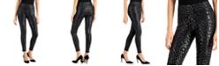 INC International Concepts INC Metallic Leopard-Print Leggings, Created for Macy's