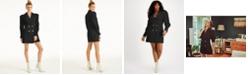 INC International Concepts CULPOS X INC Crystal-Button Blazer Dress, Created for Macy's
