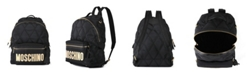 Moschino Women's Quilted Nylon Logo Backpack (46% Off) -- Comparable Value $740