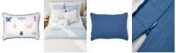 "Martha Stewart Collection Ellie Bugs and Butterflies Decorative Pillow, 12"" x 20"""