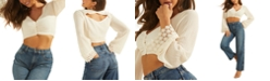GUESS Maya Cutout Crop Top