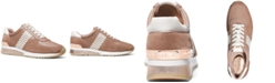 Michael Kors Allie Trainer Signature Logo Sneakers