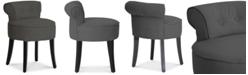 Furniture Arlene Vanity Stool,