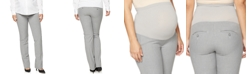 A Pea in the Pod Maternity Pants, Secret Fit Belly Bi-stretch Suiting Straight Fit Straight Leg