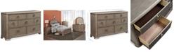 Furniture Kelly Ripa Home Hayley Bedroom 7 Drawer Dresser