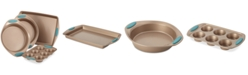 Rachael Ray Cucina 4-Pc. Agave Blue Nonstick Bakeware Set