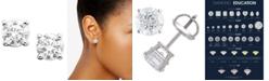 Macy's Diamond Stud Earrings (1-1/2 ct. t.w.) in 14k White Gold or Gold