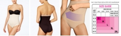 Maidenform Women's  Firm Control Fat Free Dressing High Waist Shaping Brief 1854