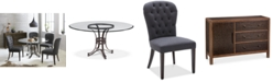 Furniture Caspian Round Dining Furniture Collection, Created for Macy's