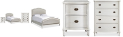 Furniture Carter Upholstered Bedroom Furniture Collection, 3-Pc. Set (Upholstered King Bed, Chest & Nightstand)