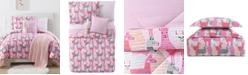 My World Llama Reversible 3-Pc. Printed Full/Queen Comforter Set