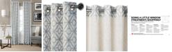 """Elrene Crackle Linen Grommet 52"""" x 95"""" Panel"""