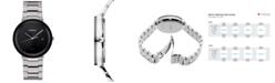 Seiko Men's Solar Essentials Stainless Steel Bracelet Watch 40mm