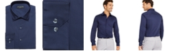 Alfani Men's Slim-Fit Performance Stretch Easy-Care Solid Dress Shirt, Created for Macy's