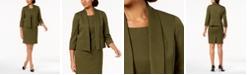 Le Suit Flyaway Jacket & Sheath Dress