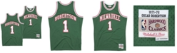 Mitchell & Ness Men's Oscar Robertson Milwaukee Bucks Hardwood Classic Swingman Jersey