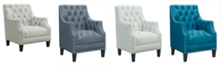 Picket House Furnishings Perry Button Tufted Accent Chair