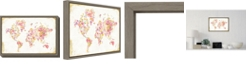 Amanti Art Midsummer World by Danhui Nai Canvas Framed Art