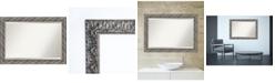 Amanti Art Rustic Pine 23x29 Wall Mirror