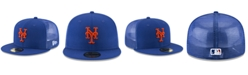 New Era New York Mets On-Field Mesh Back 59FIFTY Fitted Cap