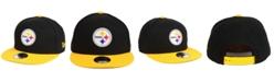 New Era Boys' Pittsburgh Steelers Two Tone 9FIFTY Snapback Cap
