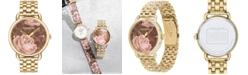 COACH Women's Delancey Gold-Tone Bracelet Watch 36mm