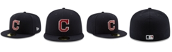 New Era Cleveland Indians Metal & Thread 59FIFTY-FITTED Cap