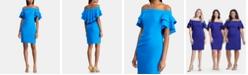 Lauren Ralph Lauren Tiered Overlay Dress