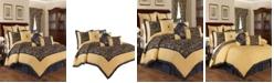 Savannah Home Rhapsody 4-piece King Comforter set