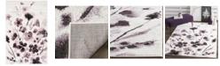 """Safavieh Adirondack Ivory and Purple 5'1"""" x 7'6"""" Area Rug"""