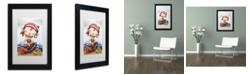 "Trademark Global Jennifer Nilsson Stormy Matted Framed Art - 18"" x 24"" x 2"""