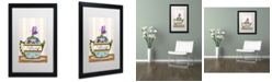 "Trademark Global Jennifer Nilsson Mother's Tea Matted Framed Art - 16"" x 20"" x 0.5"""