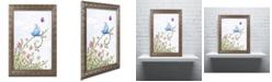 """Trademark Global Jennifer Nilsson Spring Welcome Ornate Framed Art - 24"""" x 32"""" x 2"""""""