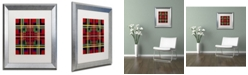 "Trademark Global Jennifer Nilsson Bright New Matted Framed Art - 11"" x 11"" x 0.5"""