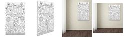 """Trademark Global Jennifer Nilsson Garden Grow Canvas Art - 11"""" x 14"""" x 0.5"""""""