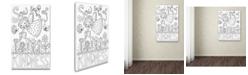 "Trademark Global Jennifer Nilsson Sow Seeds Canvas Art - 11"" x 14"" x 0.5"""