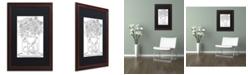 "Trademark Global Jennifer Nilsson Fill Your Heart with Joy Matted Framed Art - 16"" x 16"" x 0.5"""