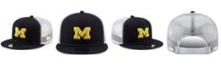 New Era Michigan Wolverines TC Meshback Snapback Cap