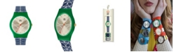 Lola Rose Orla Kiely Watch, Navy Stem Strap With Buckle Closure