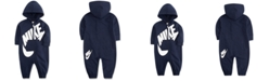 Nike Baby Boys French Terry Hooded Coverall