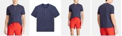Polo Ralph Lauren Men's Custom Slim Fit Mesh Henley Shirt