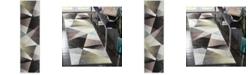 "Safavieh Porcello Grey and Multi 2'3"" x 8' Runner Area Rug"