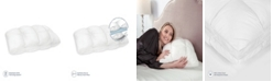 SensorPEDIC  Euro Majestic Synthetic Down and Memory Foam Jumbo Pillow