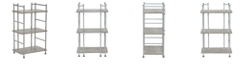 Household Essentials 3-Tier Over the Toilet Narrow Shelving Unit