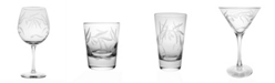 Rolf Glass Olive Set Of 4 Glasses Collection
