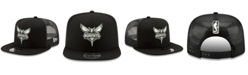 New Era Charlotte Hornets Dub Fresh Trucker 9FIFTY Snapback Cap