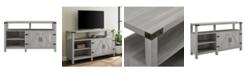 "Walker Edison 58"" Modern Farmhouse Tv Stand - Stone Grey"