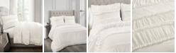 Lush Decor Nova Ruffle 3Pc King Comforter Set